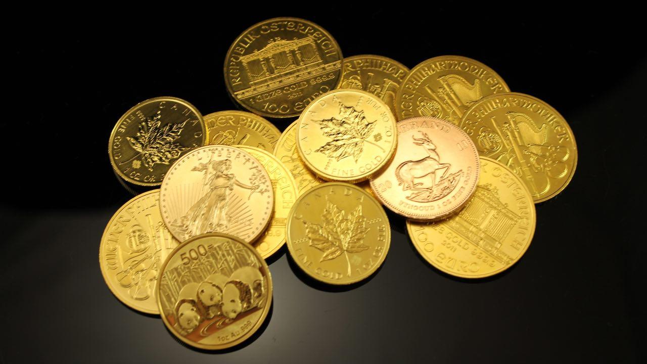 monedas dañadas