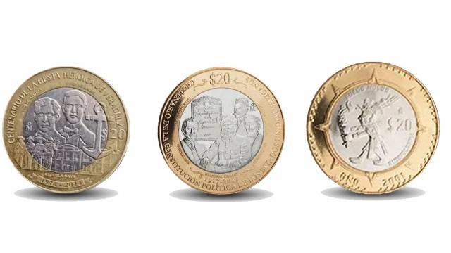 Estas monedas conmemorativas son muy valiosas