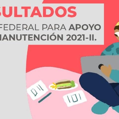 Pasos para consultar los resultados de la Beca Manutención 2021