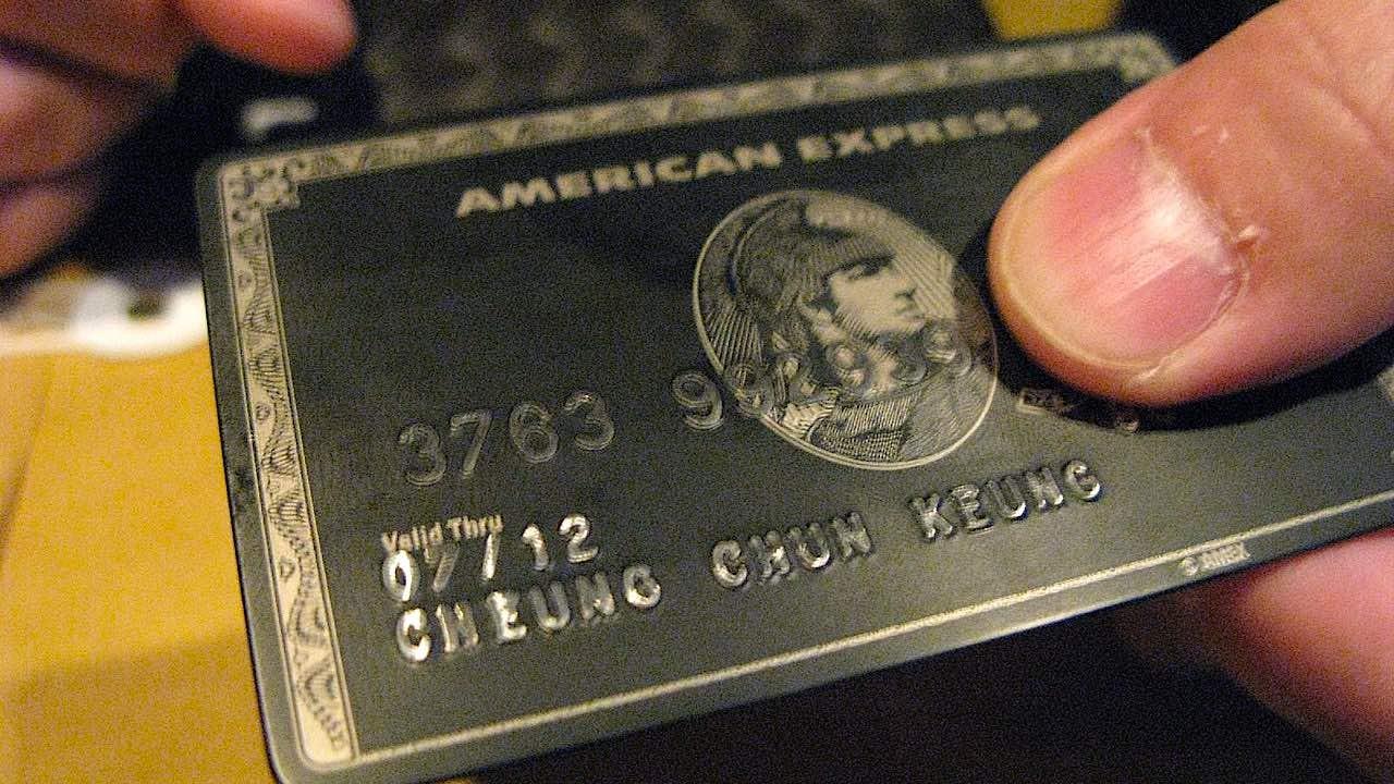 La tarjeta negra es una de las tarjetas de crédito más prestigiosas