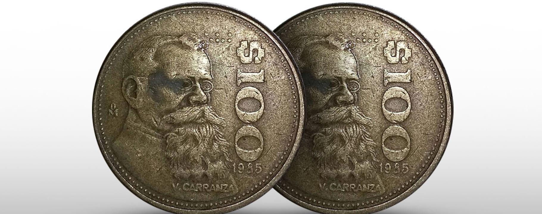 Monedas a la venta en más de 30 mil pesos