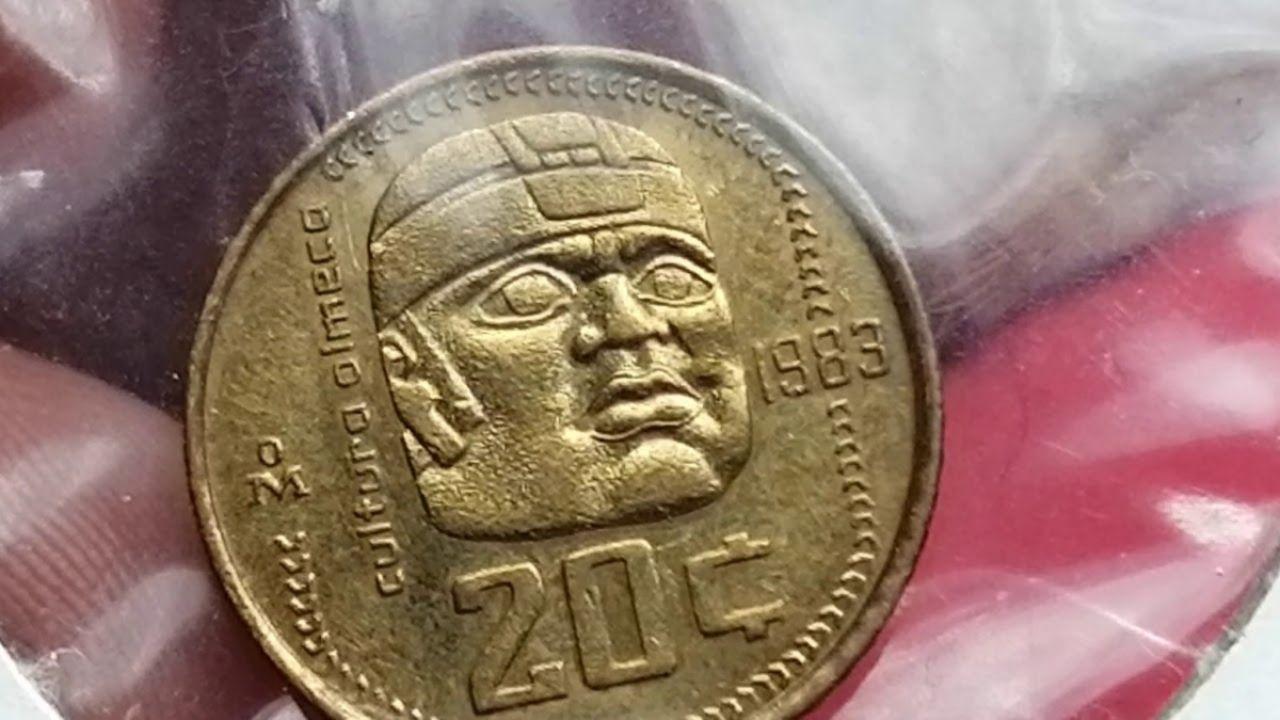 El centavo con cabeza olmeca que cuesta más de 20 mil pesos