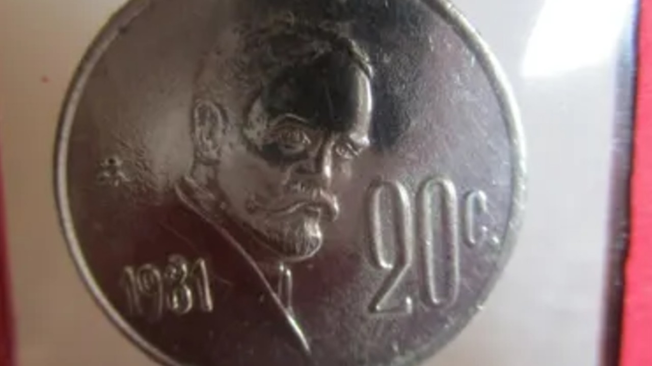 Monedas de más de 20 mil pesos