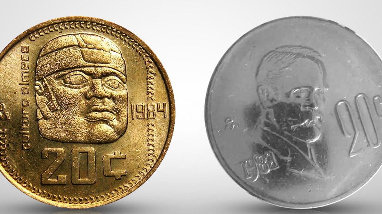 Conoce los centavos más caros de México