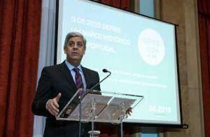 O Ministro das Finanças, Mário Centeno, apresenta, em conferência de imprensa, o Orçamento de Estado para 2019 - 16OUT18