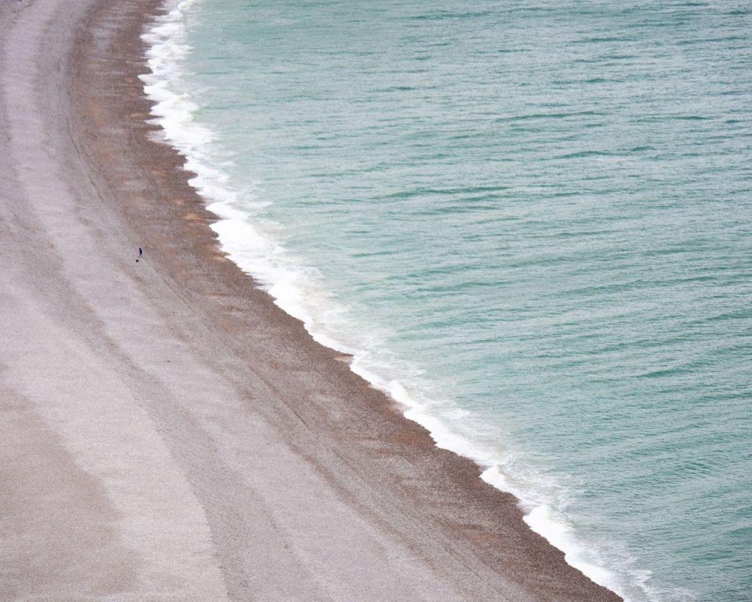 Fécamp falaises plage