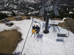 第3スカイリストで山頂