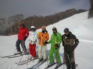 国体女子西山コース