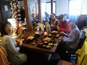 信州名物 1番人気 松代定食1500円