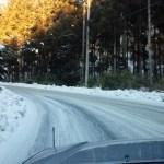 根利(赤城北東面)超えは圧雪凍結部も
