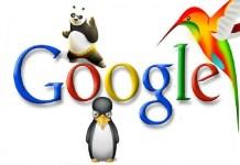 Google Penguin Google Panda and Google Hummingbird