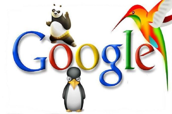 Google Penguin Google Panda and Google Hummingbird