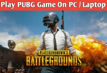 Step by step instructions to Play PUBG Mobile Game on PC or Laptop