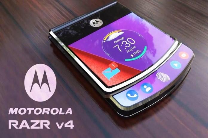 Motorola Smartphone Razr V4 Specifications and Price