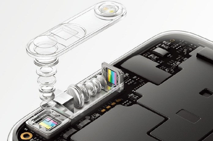 oppo Smartphone with 10x zoom camera