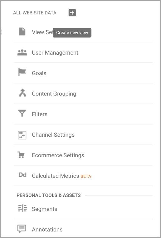 Filter your Analytics traffic