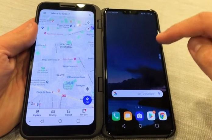 LG Dual Screen 5G smartphone V50ThinQ