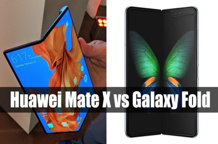 Samsung Galaxy Fold vs Huawei Mate X better foldable phone