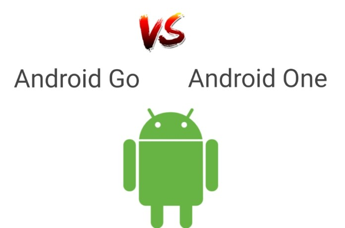 difference between Android Go and Android One operating System