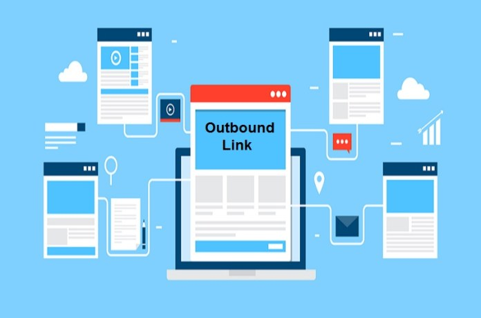 how to add outbound links