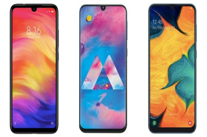 Best smartphone Redmi Y3 vs Redmi Note 7 vs Realme 3