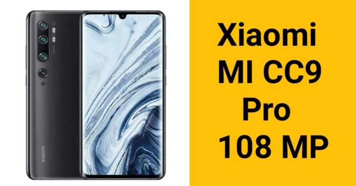 Xiaomi Mi CC9 Pro Specifications
