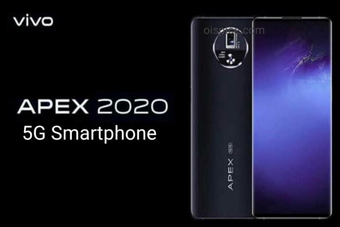 Vivo Apex 2020 5g Smartphone comes with 48MP Camera