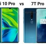 Xiaomi Mi 10 Pro vs OnePlus 7T Pro
