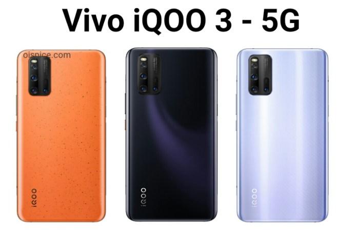 vivo iqoo 3 5g smartphone