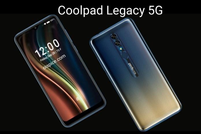 Coolpad Legacy smartphone india