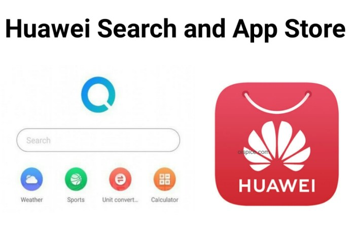 Huawei Search and App Store