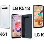 LG k41s vs LG k51s vs LG k61