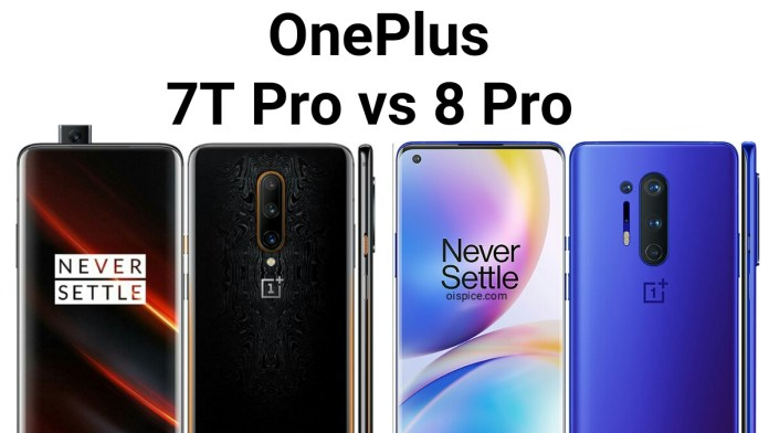 OnePlus 7T Pro 5G vs OnePlus 8 Pro 5G