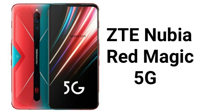 ZTE Nubia Red Magic 5G pros and cons