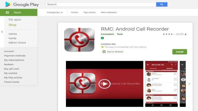 RMC Call Recorder