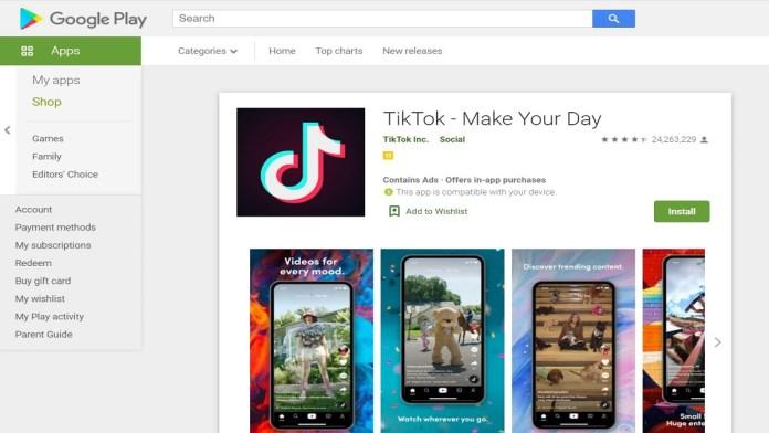 videos removed by Tiktok