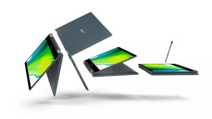 Acer Spin 7 Laptop Snapdragon processor