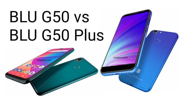 BLU G50 and G50 Plus