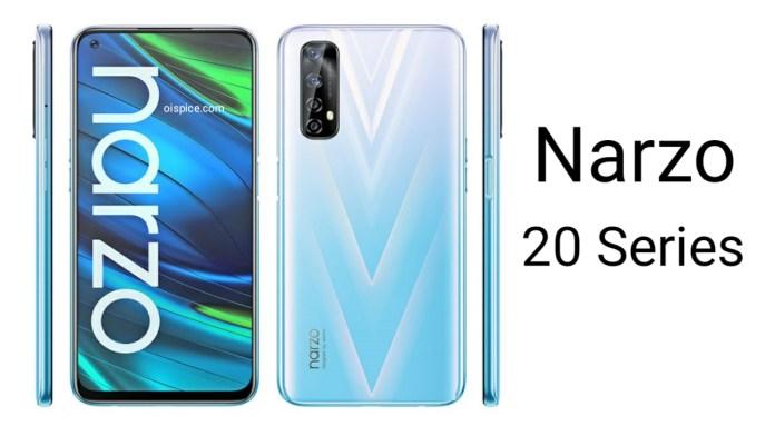 Realme Narzo 20 and 20 Pro
