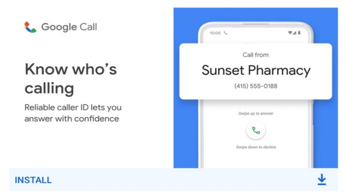 Google call App