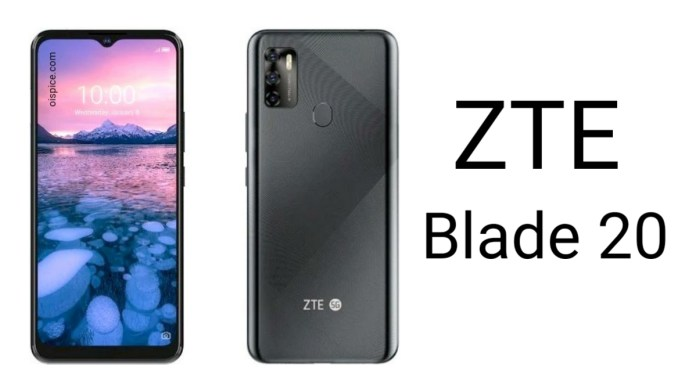 ZTE Blade 20
