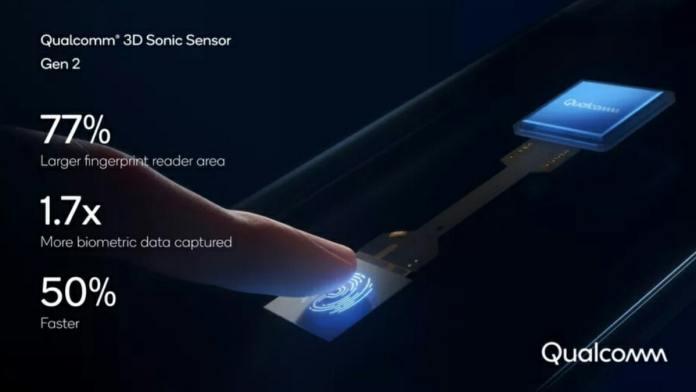 Second generation Qualcomm fingerprint scanner