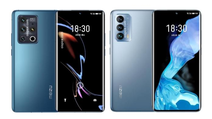 Meizu 18 and 18 Pro