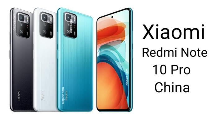Xiaomi Redmi Note 10 Pro for China
