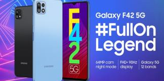 Samsung Galaxy F42 pros and cons