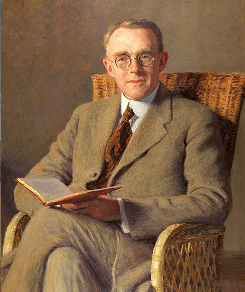 Sherman Day Thacher in 1922 by artist H.R. Butler