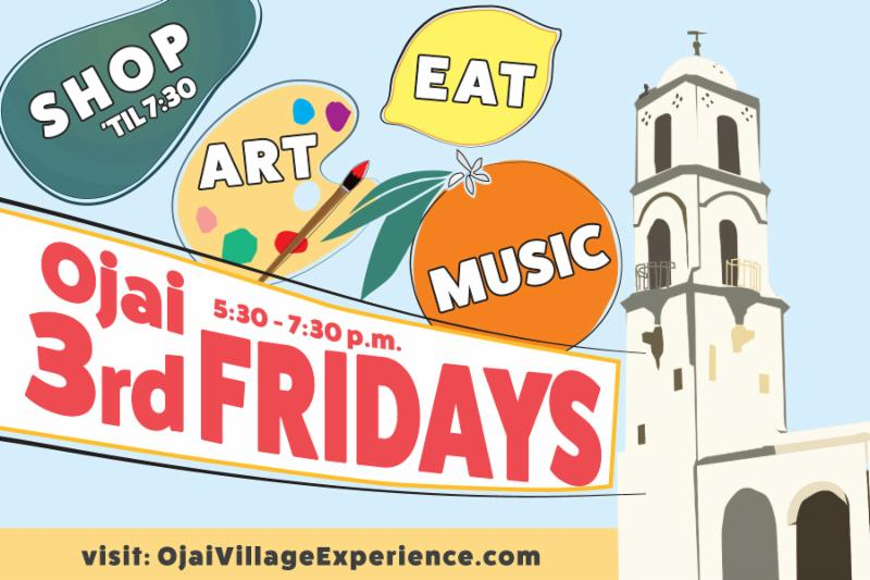 third friday's ojai downtown