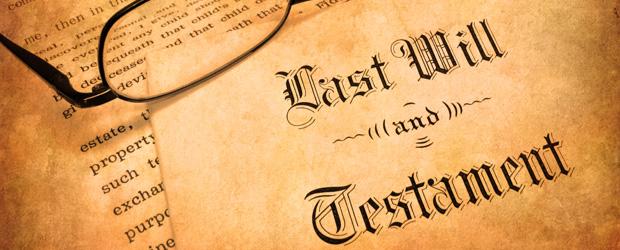 Last Will & Testament