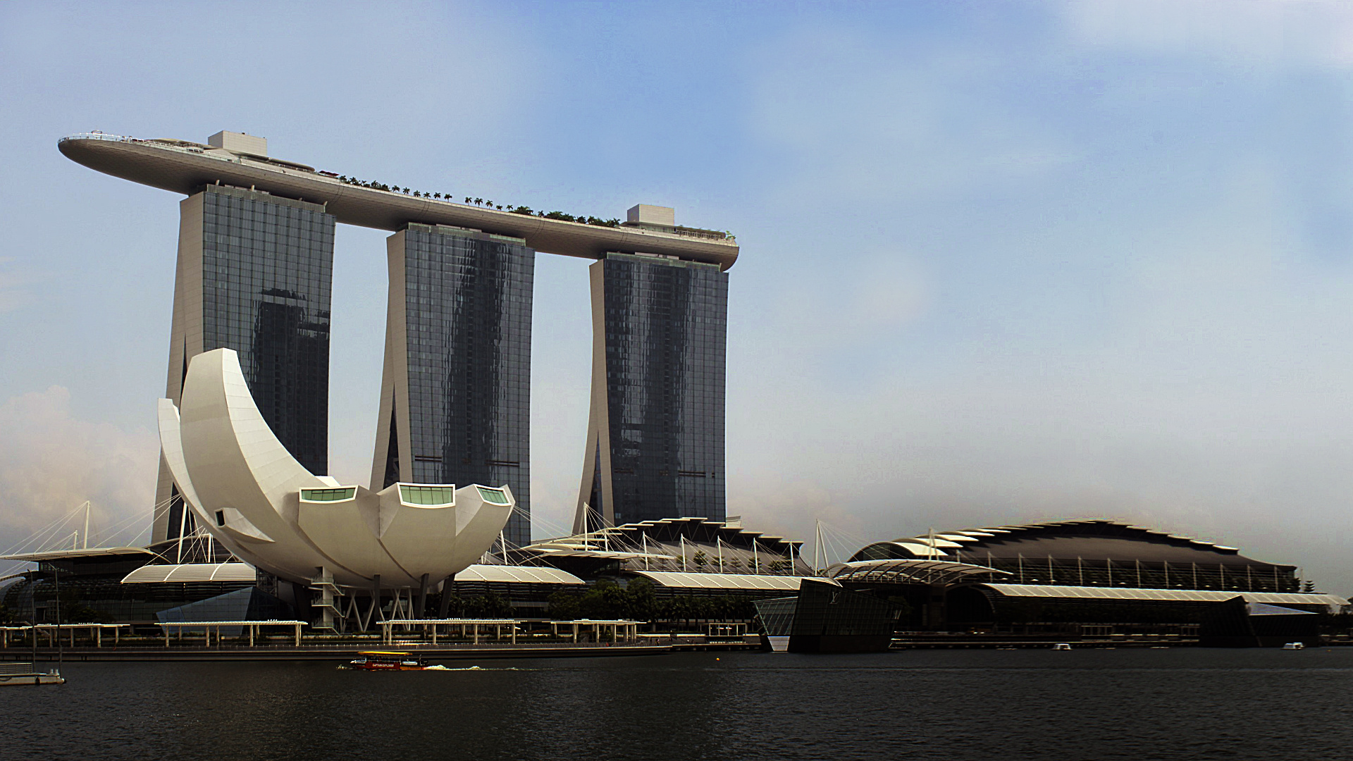 Marina Bay Sands Desktop Wallpaper Ojdo