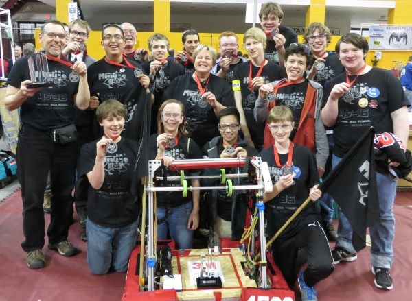 2014 MinuteBots at regionals